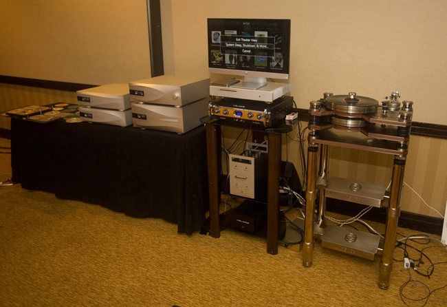dCS digital, Kronos turntable and Veloce preamp