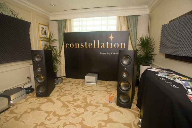 Magico Q7 speakers on Constellation Audio gear