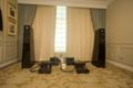Vertity Lohengrin speakers and Lamm ML2.2 amps from the listening position
