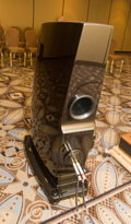 The Rockport Altair speaker from behind