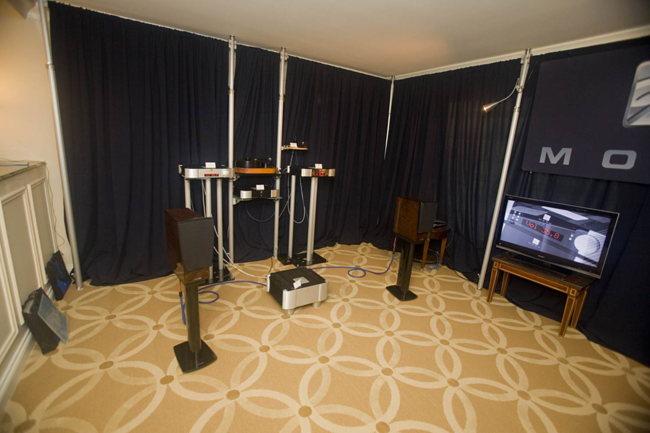 Simaudio electronics on Dynaudio speakers